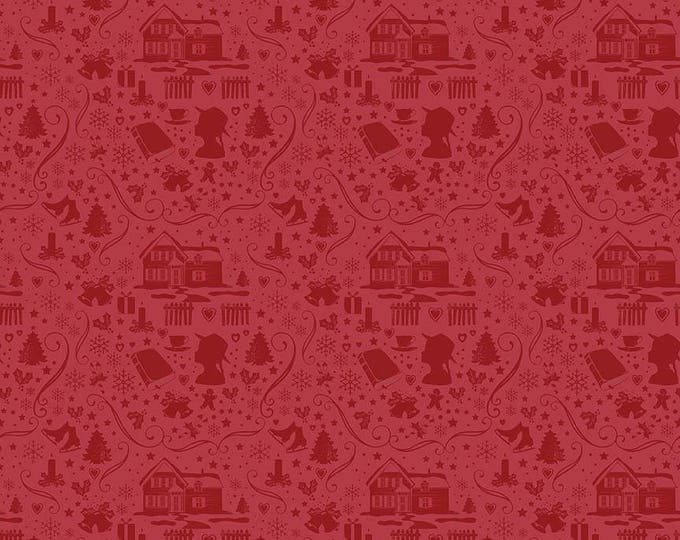Anne of Green Gables Christmas - Silhouette Red (C6493-Red)