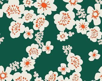 Aviary Jade Hana by Ruby Star Society for Moda Fabrics (RS5002 13) - Cut Options Available