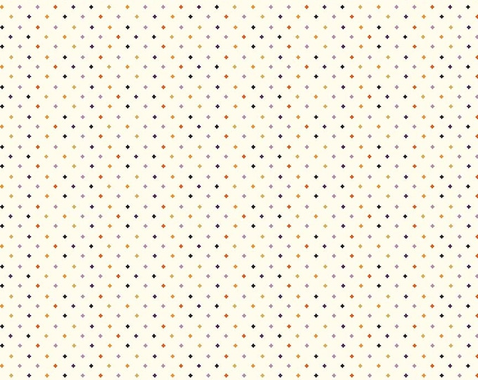 Fab-Boo-Lous Diamonds - Cream (C8176 CREAM) Fab-boo-lous by Dani Mogstad for Riley Blake Designs