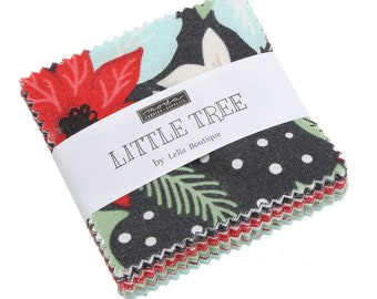 Little Tree Mini Charm Pack by Lella Boutique - 5090MC - Moda Mini Charm Pack - Little Tree Lella Boutique