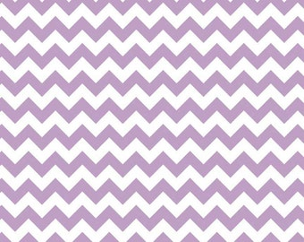 Riley Blake Designs, Small Chevron in Lavender (C340 120)