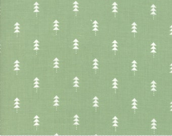 Little Tree by Lella Boutique - Little Trees - Pine (5094 12)  Lella Boutique Little Tree for Moda Fabrics - Christmas Fabric