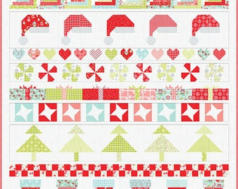 Christmas Cheer Quilt Kit By Bonnie and Camille for Moda - KIT55161