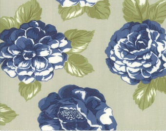 Early Bird Gray Blooms by Bonnie & Camille for Moda Fabrics (55190 14) - Cut Options Available