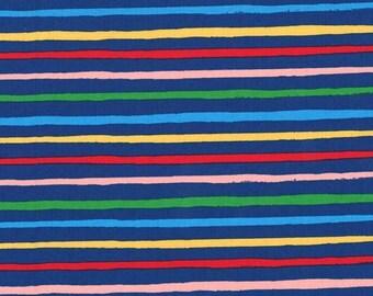 Lola Dutch Stripe in Celestial by Sarah Jane for Michael Miller - (DH8581-CELS-D) - Lola Dutch Fabric - 1/4 yard