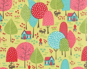Lil Red (20502 17) To Grandmothers House Sprig  by Stacy Iset Hsu
