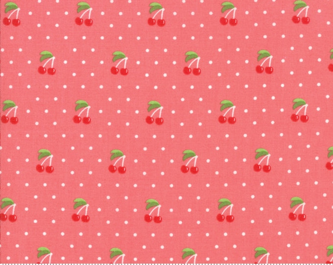 Orchard Cherry Pie - Strawberry - April Rosenthal Orchard for Moda Fabrics (24074 14)