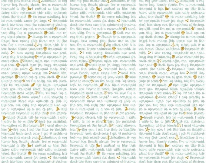 Lets Be Mermaids Shell Phone White Sparkle (SC7614-WHITE) by Melissa Mortenson of Polka Dot Chair