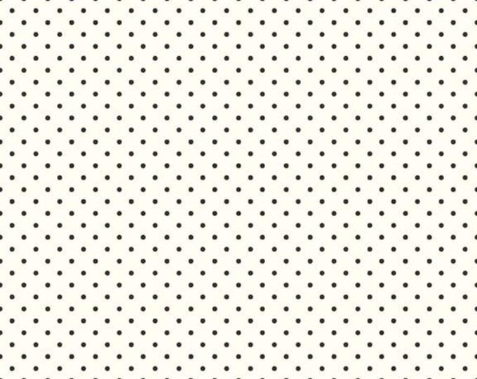 Black Swiss Dots on Cream, Riley Blake Designs  (C600 110)
