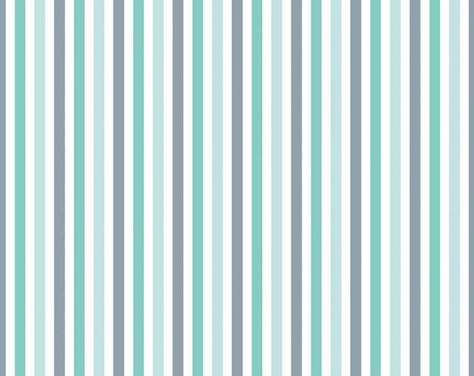 Sharktown, By Shawn Wallace Stripe Teal C6354-Teal