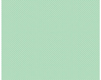 Kisses Tone on Tone Sweet Mint (C210) - Riley Blake Designs