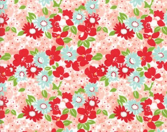 The Good Life (55155 13) Coral Flower Garden by Bonnie & Camille