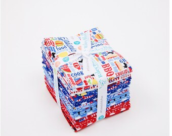 Patriotic Fat Quarter Bundle (FQ-8000-24)