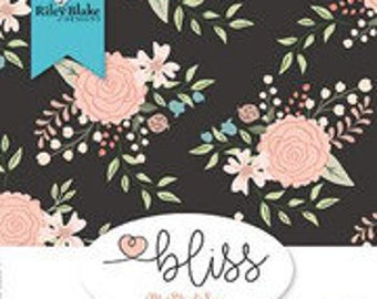 PREORDER: Bliss by My Mind's Eye for Riley Blake Designs - Half Yard Bundle - Complete Set