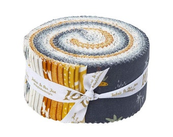 Fossil Rim 2 Rolie Polie by Deena Rutter for Riley Blake Designs (RP-8870-40) - Jelly Roll