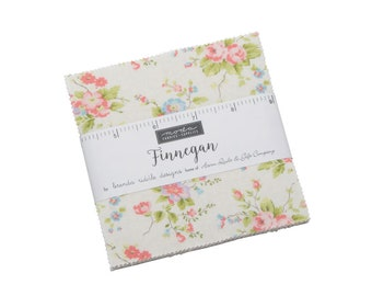 Finnegan by Brenda Riddle (Acorn Quilts) Charm Pack (18680PP) -  - Finnegan Charm Pack for Moda Fabrics
