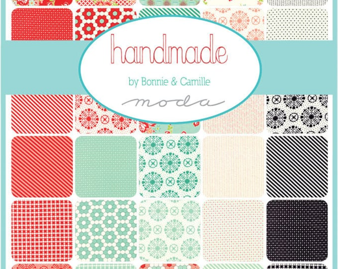 Handmade (55140AB) by Bonnie and Camille - Fat Quarter Bundle
