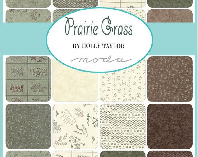 Moda Scrap Bag - Prairie Grass by Holly Taylor for Moda