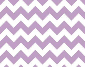 Riley Blake Designs, Medium Chevron in Lavender (C320 120)