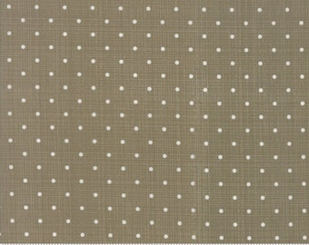 Sweet Tea Dot in Taupe by Sweetwater for Moda Fabrics - (5723-21)