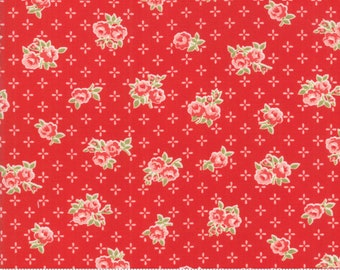 Early Bird Red Sweet by Bonnie & Camille for Moda Fabrics (55191 11) - Cut Options Available