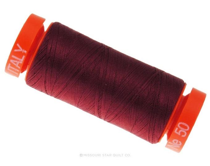 MK50 2460 - Aurifil Dark Carmine Red Cotton Thread