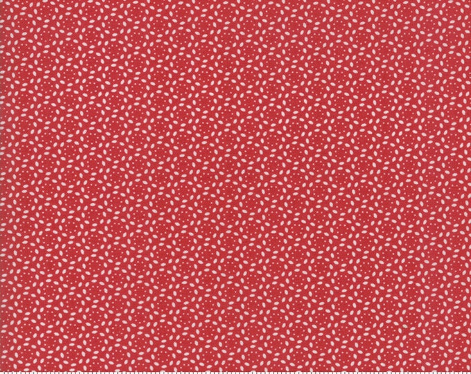 Sweet Tea Lace in Red by Sweetwater for Moda Fabrics - (5727-18) - 3/4 yard
