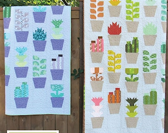 Greenhouse Quilt Kit by Elizabeth Hartman