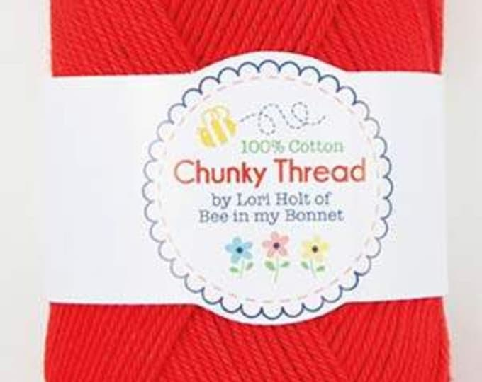 Lori Holt - 50 g Skein Chunky Thread - Red