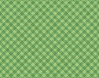 Cozy Christmas Cozy Gingham Green (C7972-Green)