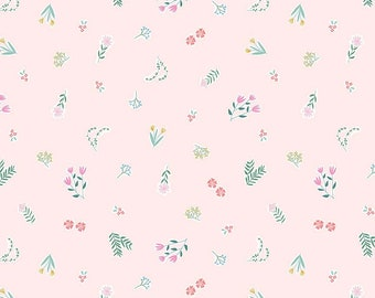 Pemberley Light Pink Garden by Citrus and Mint Designs for Riley Blake Designs (C8821-LTPINK)  - Jane Austen Fabric