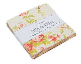 Ella and Ollie  by Fig Tree & Co. - Charm Pack - (20300PP) - Moda Precut Fabric