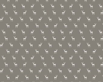 Golden Days Taupe Deer by Fancy Pants Design for Riley Blake Designs (C8603-TAUPE) - Cut Options Available