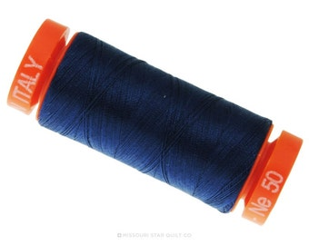 Aurifil Medium Delft Blue Cotton Thread- MK50 2783 -  Quilting / Sewing Thread - Aurifil Thread