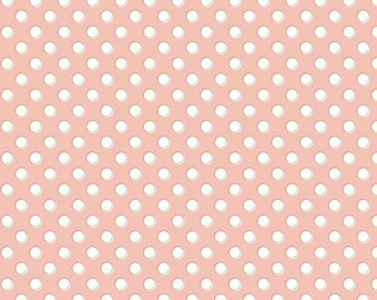 Bliss Blush Dots by My Mind's Eye for Riley Blake Designs (C8163-BLUSH)