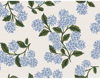 Meadow Cream Hydrangea by Rifle Paper Co. for Cotton and Steel Fabrics (RP201-CR3) - Cut Options Available!