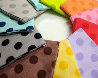 Riley Blake Tone on Tone Dots Flannel bundle - 11 Fat Quarters