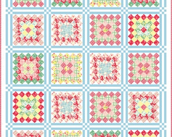 Cheeky Quilt Pattern by Urban Chiks Project Sheet PS31140