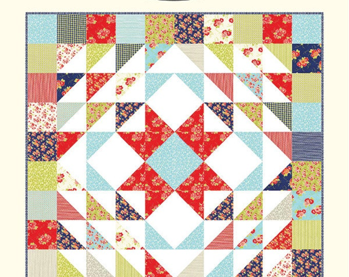 Cozy Quilt Pattern by Cotton Way (Bonnie Olaveson) CW972. Layer Cake Friendly!