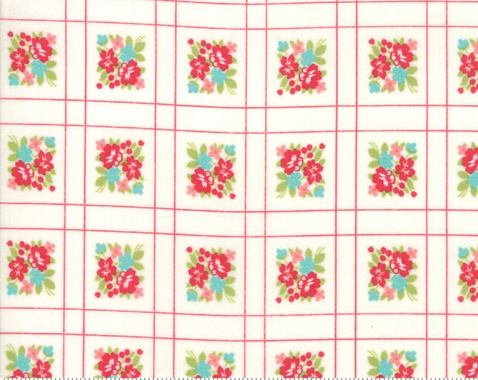 Little Snippets Cream Forget Me Not by Bonnie & Camille for Moda Fabrics (55187 15)