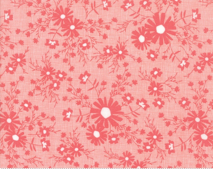 Sunnyside Up Meadow Strawberry (Pink) by Corey Yoder (Little Miss Shabby) for Moda (29054 17)