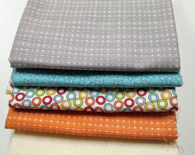 Sweetwater Treehouse Club Half Yard Bundle - (5) half yard cuts