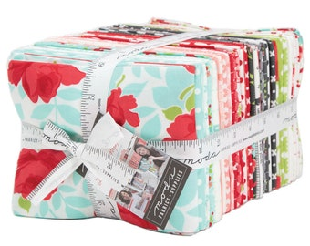 IN STOCK:  Little Snippets by Bonnie & Camille (55180AB) Fat Quarter bundle - 40 FQ's for Moda Fabrics