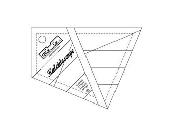 """Bloc-Loc - Kaleidoscope Ruler 3"""" - Quilting Tool"""