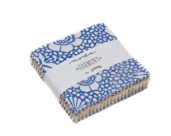 Harmony Sweetwater Mini Charm Pack -  (5690MC) - Moda Mini Charm Precut Fabric
