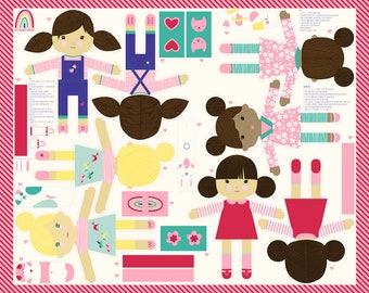 Best Friends Forever Panel by Stacy Iest Hsu (20620-11)