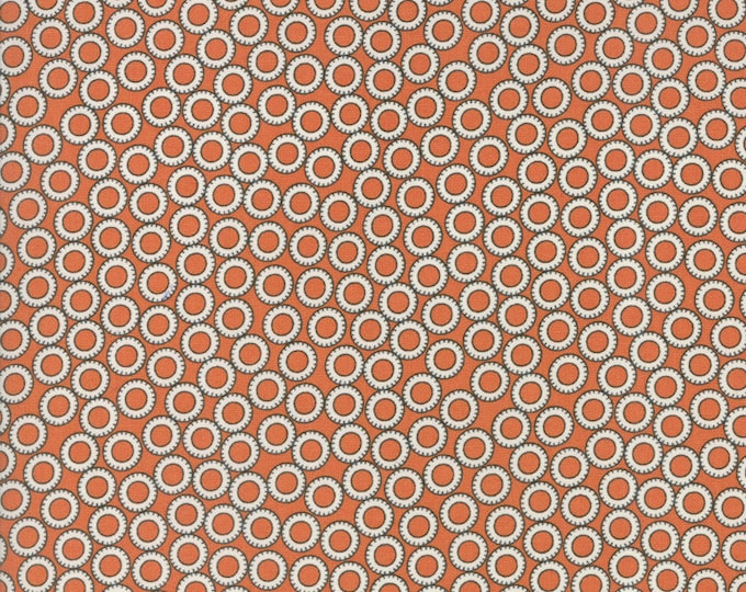 Treehouse Club (5637 28) Tire Swing Tangerine by Sweetwater - 1/2 yard piece