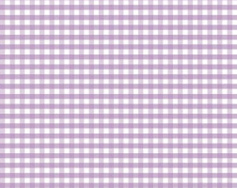 Riley Blake Designs, Medium Gingham in Lavender (C450 120)