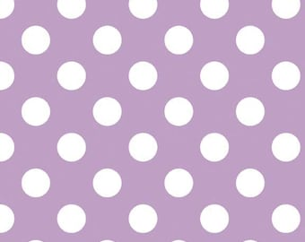 Riley Blake Designs, Medium Dots in Lavender (C360 120)