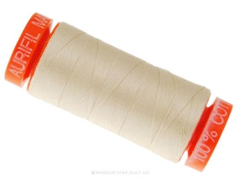 MK50 2310 - Aurifil Light Beige Cotton Thread
